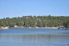 Lac Arareco Photographie stock libre de droits