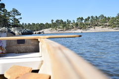 Lac Arareco Photographie stock
