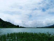 Lac Arenal en Costa Rica photo stock