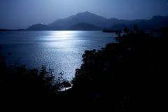 Lac argenté images libres de droits