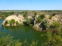 Lac argenté Photographie stock libre de droits
