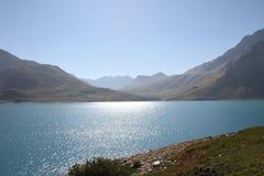Lac artificiel photographie stock