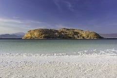 Lac Asal в Джибути стоковые изображения