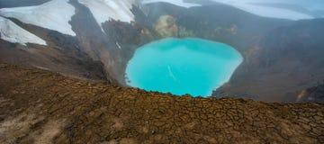 Lac Askja Photographie stock libre de droits