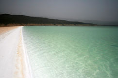 Lac Assal in Djibouti Stock Image