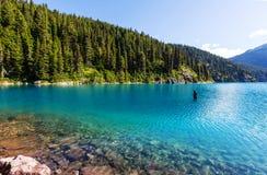Lac au Canada Image libre de droits