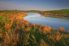 Lac au Pays de Galles Photographie stock libre de droits