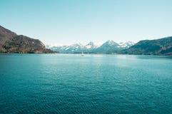 Lac austria Image libre de droits