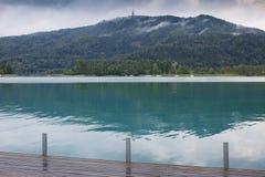 Lac Autriche Worthersee Images libres de droits