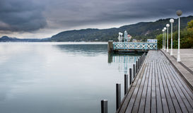 Lac Autriche Worthersee Photos stock