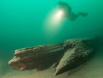 Lac autrichien Photo libre de droits