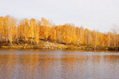 Lac autumn Images libres de droits