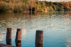Lac autumn Photos stock