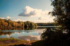 Lac autumn Image libre de droits