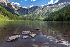 Lac avalanche Photographie stock