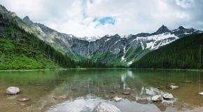 Lac avalanche photos stock