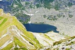 Lac avec de l'eau bleu Image libre de droits