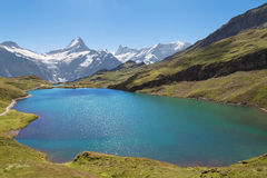 Lac Bachalpsee Images stock