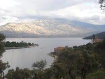 Lac Bafa, Turquie Photo stock