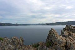 Lac Baikal, île d'Olkhon Images stock