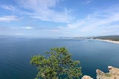 Lac Baikal, île d'Olkhon Image stock