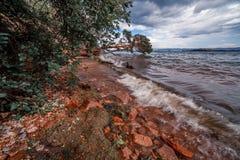 Lac Baikal Image libre de droits