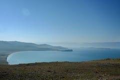 Lac Baikal près de villahe de Khuzhir à l'île d'Olkhon en Sibérie, Russie Photo stock