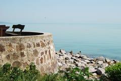 Lac Balaton, Hongrie Photos stock