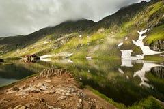 Lac Balea Image libre de droits
