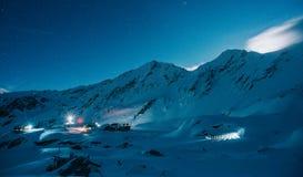 Lac Balea d'en haut Photo libre de droits