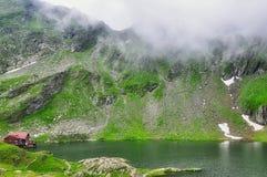 Lac Balea - Roumanie image libre de droits