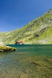 Lac Balea, Roumanie images stock