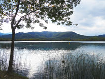 Lac Banyoles photos stock
