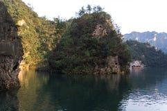 Lac Baofeng en Chine Image libre de droits