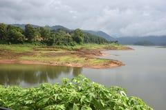Lac Barapani à Shillong Image stock