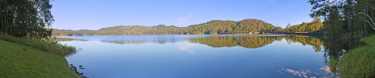 Lac Baroon Panorama Image Image stock