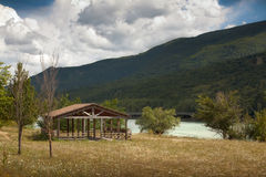 Lac Barrea Images stock