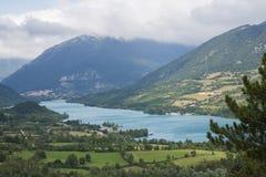 Lac Barrea Photos libres de droits