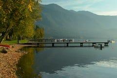 Lac BC Canada Cultus photographie stock