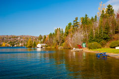 Lac-Beauport, Quebec. Late Autumn, Lac-Beauport, Quebec Canada Royalty Free Stock Photo