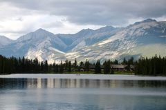 Lac Beauvert Lake stock images
