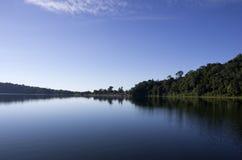 Lac Beratan Photos stock