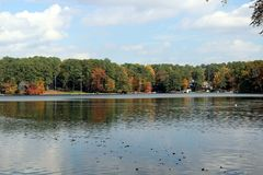 Lac Berkley Images libres de droits
