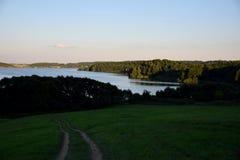 Lac biélorusse Images libres de droits