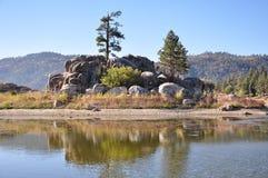 Lac big Bear Image libre de droits