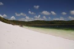 Lac Birrabeen - île de Fraser, Australie Photo libre de droits