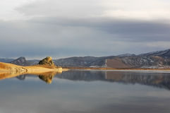 Lac blanc Photos libres de droits