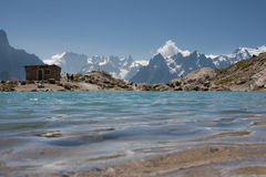 Lac Blanc Royalty Free Stock Images