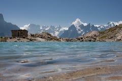 lac blanc Стоковые Изображения RF