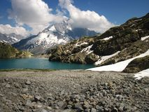Lac Blanc Stock Images